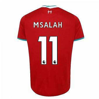 2020-2021 Liverpool Home Paita (M.SALAH 11)