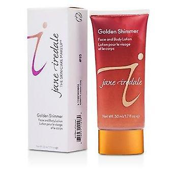 Golden Shimmer (For Face & Body) 50ml or 1.7oz