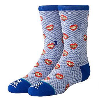 Stance Kinder Gold Fronten Socken - blau