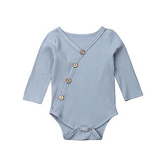 Baby / Solid Bodysuit, Long Sleeve Jumpsuit Clothes Outfit
