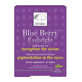 New Nordic US Inc Blue Berry Strong to Strengthen the Vision, 60 Tabs