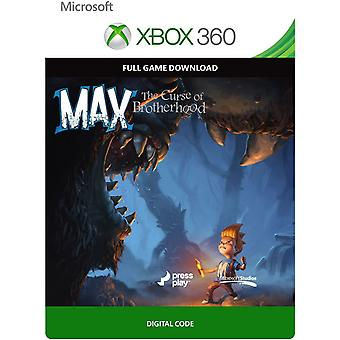 Max The Curse of Brotherhood Switch Game (Code in a Box)