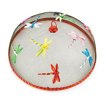 Eddingtons 35cm Dome Food Cover, Dragonflies