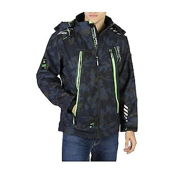 Geographical Norway - Clothing - Jackets - Torry_man_camo_navy-green - Men - navy,green - L