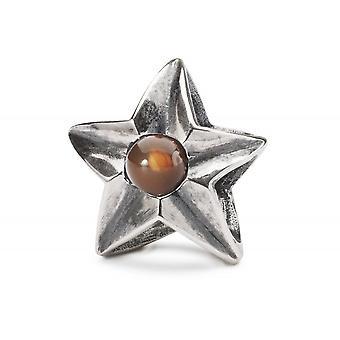 Trollbeads Sterling Silver Leo Star Bead TAGBE-00265