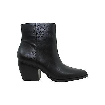 Enzo Angiolini Womens Mabbin Leather Pointed Toe Mid-Calf Fashion Boots