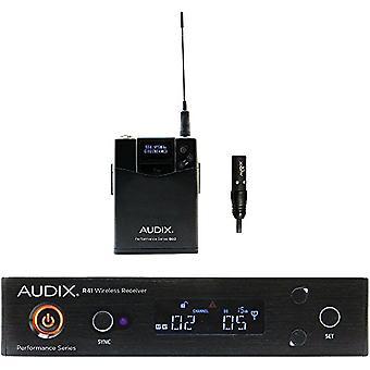 Audix ap41 l5 sistema sem fio lavador 554-586 mhz