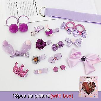 Headwear Set, Princess Hairdress, Beauty Hair Clip, Pretend Play, Accessoires