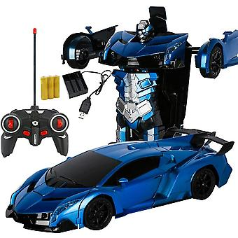 Car Transformation Robots Vehicle Model Wireless Charging Cool Deformation Car