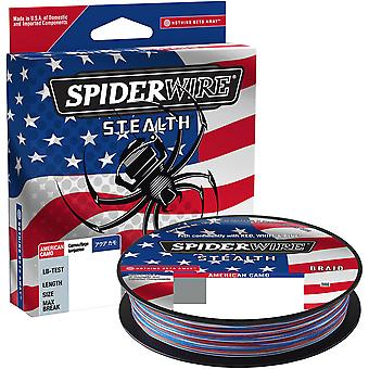 SpiderWire Stealth 164 Yard Fishing Line - 65 lb. Test - American Camo