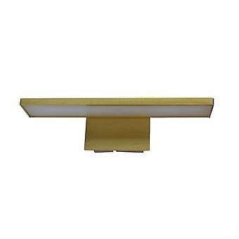 Moderne LED Bild Lampe Messing, Warm weiß 3000K 400lm