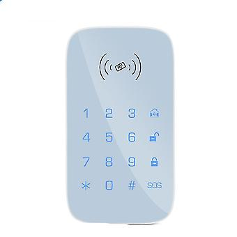 Wireless Keypad For Security System Kit, Burglar Fire Alarm Host Control Panel