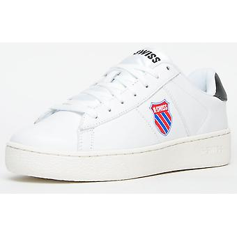 K Swiss Court Casal Leather White / Black / Red / Blue