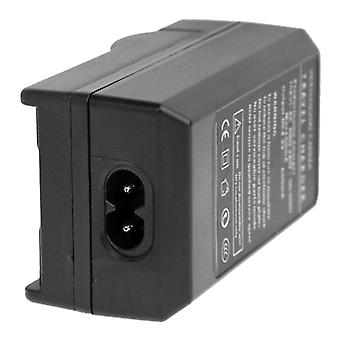 Digital Camera Battery Car Charger for Casio NP-130(Black)
