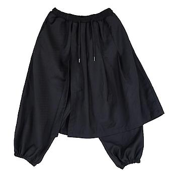 Fashion Casual Loose Skirt Pants, Japanese Streetwear Hip Hop Gothic Punk