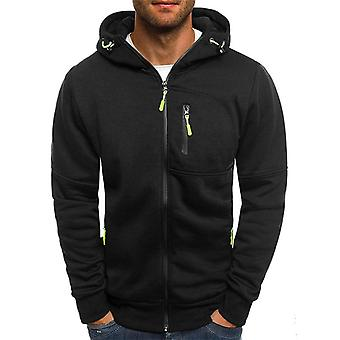 Spring Men's Jackets, Hooded Coats, Casual Zipper, Sweatshirts, Male Tracksuit,