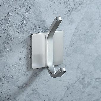 Robe Hook Wall Towel Bathroom Stainless Steel Coat Rustproof Hanger