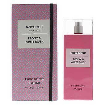 Notebook Peony & White Musk Eau de Toilette 100ml Spray