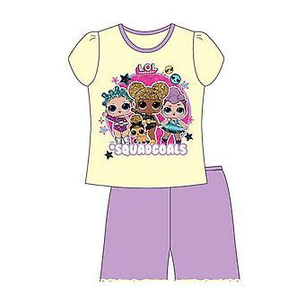 LOL Surprise Girls Squadgoals Short Pyjama Set