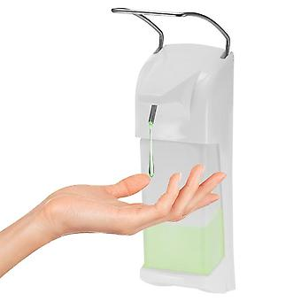 1000ml, Manual Type, Elbow Press Soap Dispenser-wall Mounted Installation
