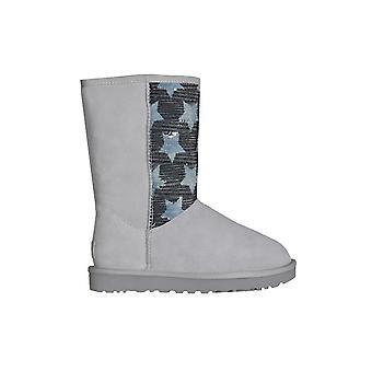 UGG Classic Short Sequin 1111029GRV chaussures universelles pour femmes d'hiver