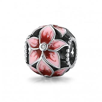 Sterling Silber Charm Blühende Blumen - 7000