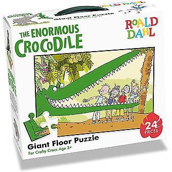 University Games Roald Dahl Enormous Crocodile 24pc Floor Puzzle