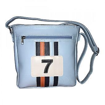 Mangusta Lady Lucky 7 Crossbody Bag Blue