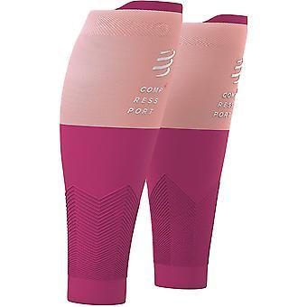 Compressport R2V2 Compression Calf Sleeves Pink