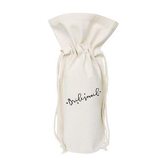 Bridesmaid-cotton Canvas Wine Bag