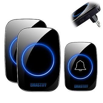 Intelligent Wireless, Remote Smart, Door Bell Chime For Home Welcome Doorbell