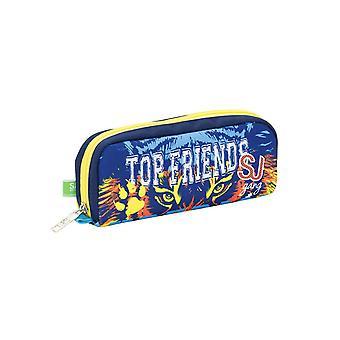 Pen holder School SEVEN - SJ TOP FRIENDS - Azul - Bolsa de pluma