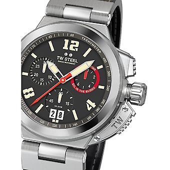 Herre Watch Tw-Steel TW999, Kvarts, 46mm, 20ATM