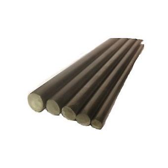 Rundstange 5,3 mm Durchmesser T304 Edelstahl - 300 mm Länge