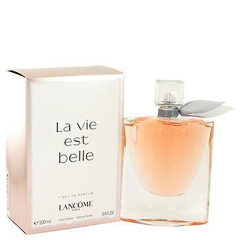 La Vie Est Belle Eau De Parfum Spray af Lancome 3,4 oz Eau De Parfum Spray