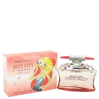 Sex In The City Fantasy Eau De Parfum Spray (New Packaging) By Unknown 3.4 oz Eau De Parfum Spray