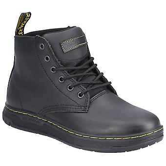 Dr martens amwell slip-resistant leather shoes mens