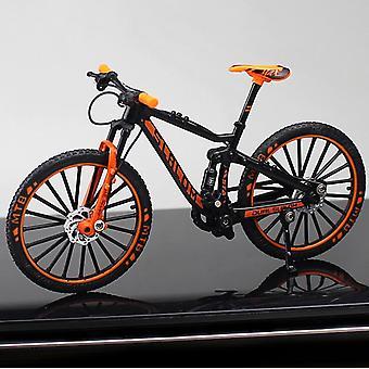legering modell sykkel, Diecast metall finger terrengsykkel, racing simulering,