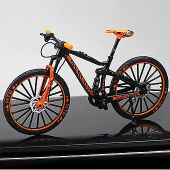 Alloy Model Bicycle, Diecast Metal Finger Mountain Bike, Racing Simulation,