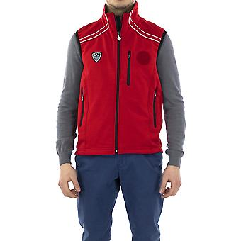 EA7 Gilet Red