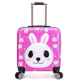 Cartoon Animal Trolley Luggage Bag