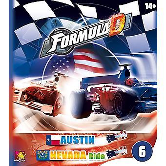 Formel D Udvidelse 6 Nevada / Austin Brætspil