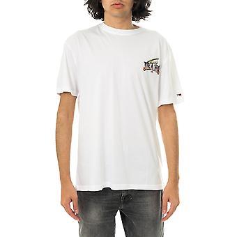 T-shirt homme tommy jeans tjm diamond back logo tee dm0dm10622.ybr