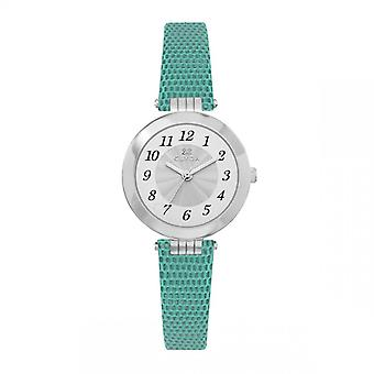Women's Watch CLYDA WATCHES - CLA0755AAAB - Green Leather