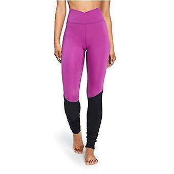 Core 10 Women's Icon Series - The Ballerina Yoga Legging,, Violet/Black, Size