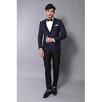 Shawl lapel double breasted suit