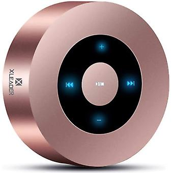 SoundAngel A8 (3 Gen) 5W Dotyková obrazovka Bluetooth reproduktor s IPX7 Vodotesné puzdro 15h Hudba, Krištáľovo čistý zvuk, Mini Premium Prenosný reproduktor pre iPhone iPad Tablet Darčeková sprcha (Ružové zlato)