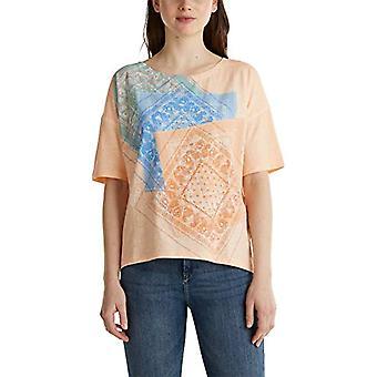 ESPRIT 040ee1k336 T-Shirt, 840/Fischerei, M Damen