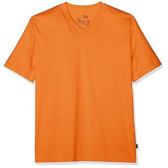 Trigema 637203 T-Shirt, Orange (Mandarin 062), Medium Men