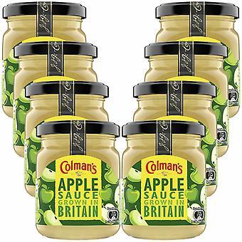 Vasetto di salsa condimenti classici di Colman, salsa di mele Bramley - 8 confezioni